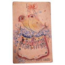 Vintage Easter Cards 1900's-1925 Set of 5