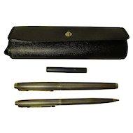 Vintage Parker Sterling & 14k Pen & Pencil Set