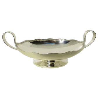 Vintage Sterling Compote by Shreve & Co.
