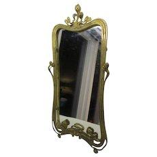 Art Nouveau Standing Dresser Mirror (Ca. 1910)