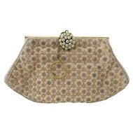 Beaded French Evening Bag