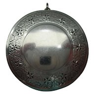 Vintage Sterling Chatelaine Compact