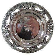 Antique Sterling Wine Coaster - 1890 by Gorham