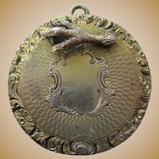 Antique Silver Pomander - Mid-18th Century, Silver Gilt