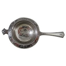 Sterling Tea Strainer by Wallace Co.