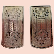 Pair of vintage dress clips - Ca. 1920-30