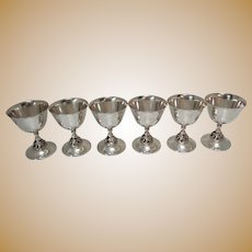 Set of 6 Champagne or Sorbets