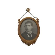 Antique Hanging Photo Frame