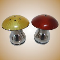 Vintage Danish Sterling Salt and Pepper Set