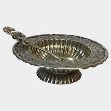 Antique Sterling Salt Dish