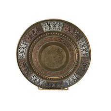 Mixed Metal Indian Plate
