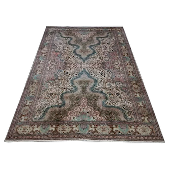 Free Shipping 1960s Kayseri Carpet 6.56X9.31ft