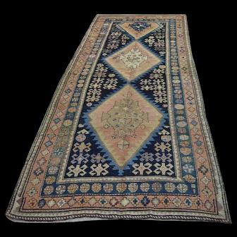 Free Shipping Antique Turkish Carpet 9.5X3.93ft