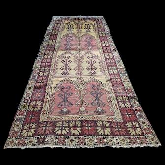 1930s Konya Carpet 13X5 ft