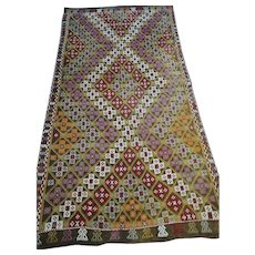 Free Shipping: 1930s Mut Cicem Rug 10X5ft