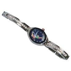 Tinkerbell Disney Cubic Zirconia Watch