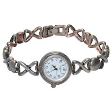 Vintage Sterling Silver Argento Watch