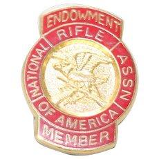 Vintage NRA Member Pin