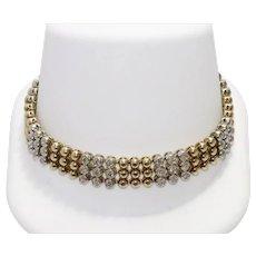 14 KT Gold 3.08 CT Diamond Bracelet