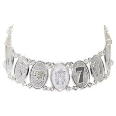 Sterling Silver Good Luck Bracelet