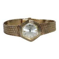 Vintage 14 KT Yellow Gold Incabloc 17 Jewels Mechanical Watch