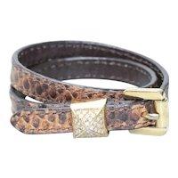 Costume Michael Kors Leather Cubic Zirconia Bracelet