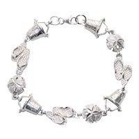 Sterling Silver Beach Link Bracelet