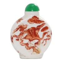 Vintage Chinese Jade Snuff Bottle