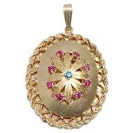 Vintage 14K Yellow Gold Amulet