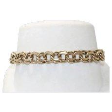 Vintage 14 KT Yellow Gold Charm Bracelet