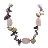 Multi-Gemstones Necklace