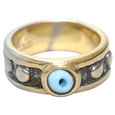Vintage 18KT Gold Filled Eye Ring