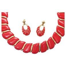 Vintage Trifari Jewelry Set