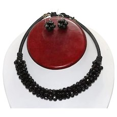 Vintage Beaded Jewelry Set