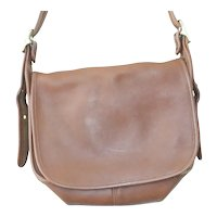 Vintage Coach 9951 Patricia's Legacy Coach Leather Flap Crossbody Bag