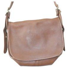 Vintage Coach 9951 Patricia's Legacy Coach Leather Flap Crossbody Bag