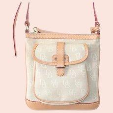 Dooney & Bourke Light Brown Crossbody Bag