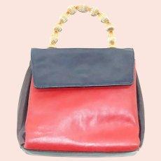 Vintage Joseph B Exclusive New York Multi Color Soft Leather