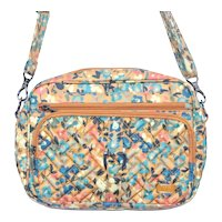 Lug Carousel XL Crossbody Bag Wildflower Amber