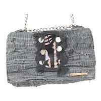 """Kooreloo """"New Yorker Soho"""" Tweed Shoulder Bag"""