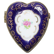 Stunning Enamel Jewelry Box