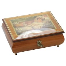 Vintage Italian Rita Ford Music Box