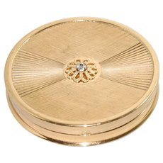 Vintage Circular Mirror Compact