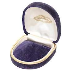 Vintage Mitsukoshi Jewelry Box