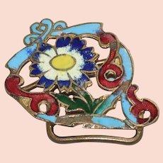 Vintage Floral Belt Buckle