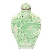 Vintage Green Palace Perfume Bottle