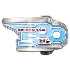 Indy Indianapolis 500 2012 Limited Edition 038 / 500 Belt Buckle