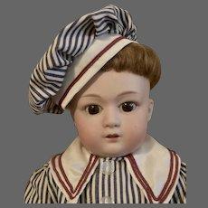 "18"" Gebruder Heubach 8192 Character Boy Child"