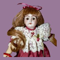 """Rare 9"""" Handwerck 199 Character w/ Fully Jointed Body"""