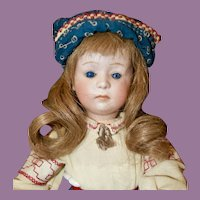 """14.5"""" Gebruder Heubach 7246 Character Child, Pouty"""